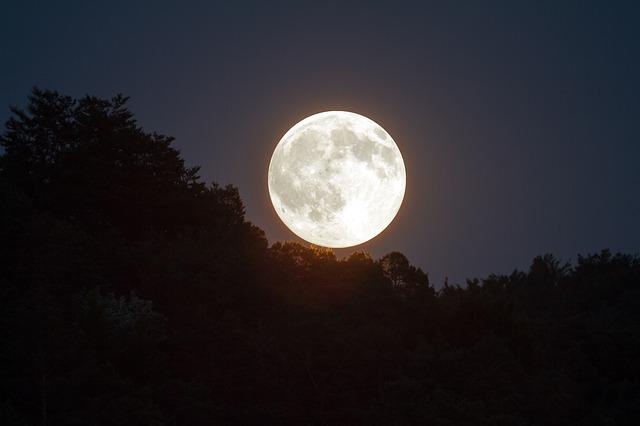 お月さまと人間心理の相関関係
