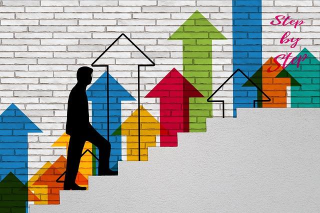 自分が成長のステップを上がっていることを実感できる徴候